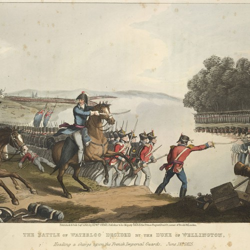 The_Battle_of_Waterloo_-_Orme's_Historic,_military,_and_naval_anecdotes_(1819),_opposite_15_-_BL