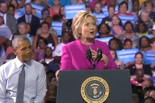 ObamaHIllaryNC