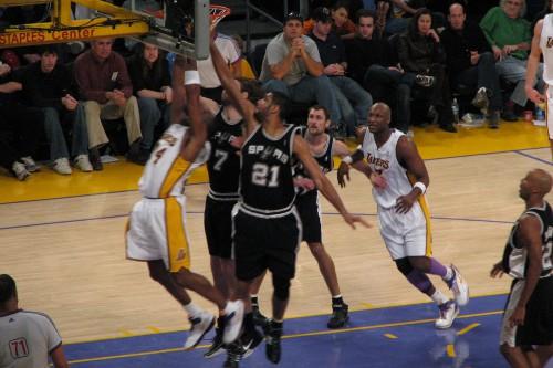 Spurs_vs._Lakers