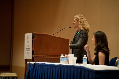 DNC_Chair_Rep._Debbie_Wasserman_Schultz_speaks_to_College_Democrats